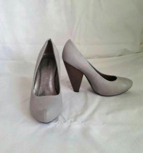 Туфли серые