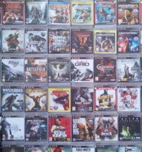 На PlayStation 3 диски