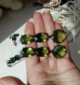 Сережки (бижутерия) Lady Collection