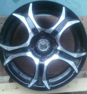 1 диск Rs Wheels R15 4x114.3