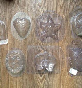 Пластиковые формы для мыла.