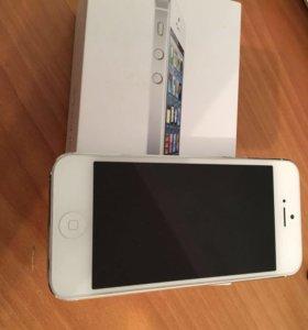 Iphone 5 16gb ( silver)