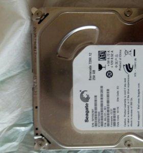 Жесткий диск,seagate 250 гб