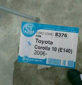 Toyota corolla тойота корола Лобовое стело