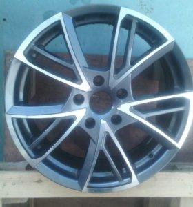 1 диск Rs Wheels R17 5х114.3