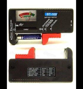 Проверка ёмкости батареек любого размера