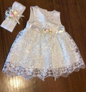 Платье для принцессы 53-58р