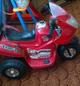 Продам детский электромотоцикл