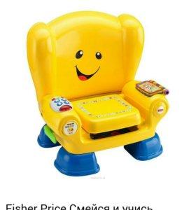 Интерактивный стул fisher prise смейся и играй