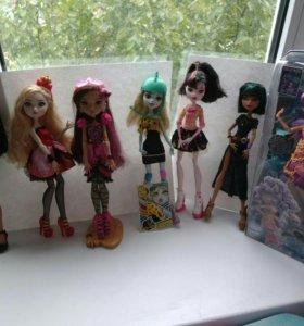 Куклы монстр хай и Эвер афтер хай