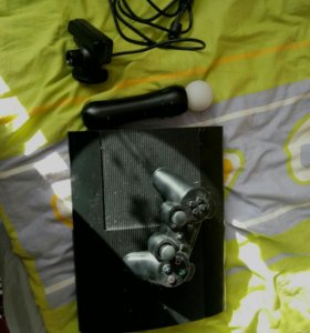 PS3 500gb+PlayStationMove