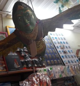 Летящая птица божество