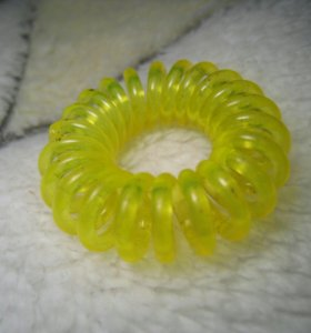 Резинки для волос-пружинка