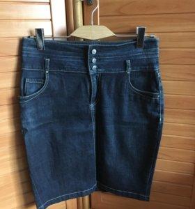 Юбка джинсовая motivi,размер 46