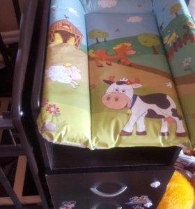 СРОЧНО!!!!!Кроватка детская трансформер