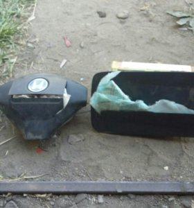 Подушки безопасности х-шрв+ремни безопасности