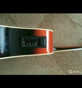 Электро аккустическая Гитара martynez FAW-702vsceq