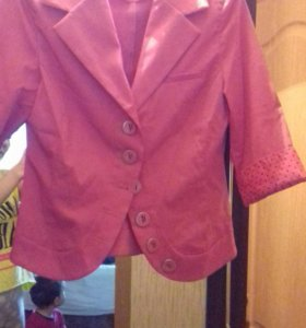 Пиджак с руковами три четверти