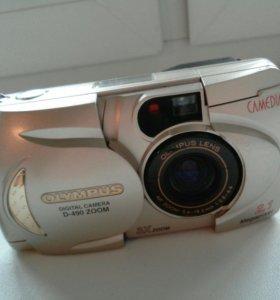 Раритетный фотоаппарат Olympus d-590 ZOOM