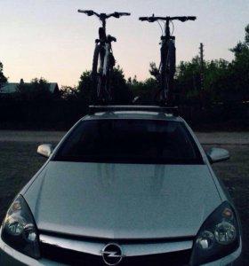 Багажник для двух велосипедов