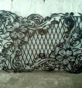 Плазменная резка и художественный раскрой листово