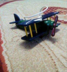 Люстра детская самолет