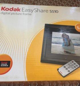 Цифровая фоторамка Kodak EasyShare S510