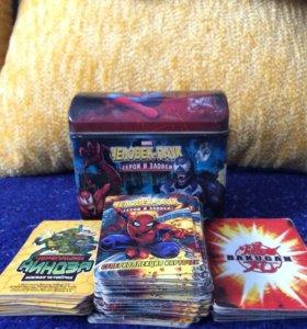 Карточки Человек-паук (смотрите в описание)