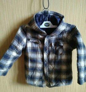 Рубашка (куртка) на синтепоне 110см