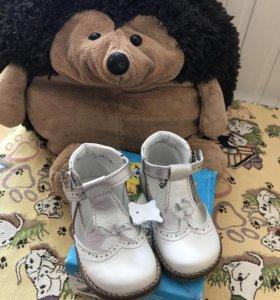 Новые туфли Котофей 21 размер