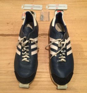 Ботинки лыжные Adidas sds с креплениями