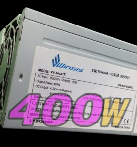 Блок питания 400W ATX