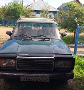 ВАЗ 2107 2001 г выпуска, 2 хозяина
