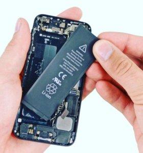 Аккумуляторы iPhone 5,5s,5se,5c,6,6s,6+