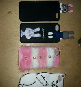 Чехлы на iphone 6s и 7s