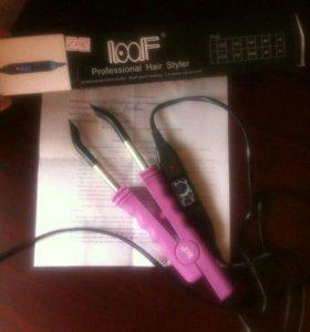 Щипци для наращивания волос