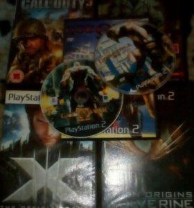 Диски PS2 цена за все