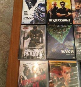 Фильмы на cd дисках в отличном качестве