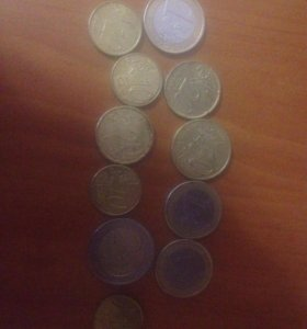 Монеты Евро центы