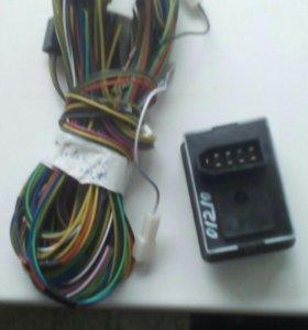 Провода и джостик для электро регулировки зеркал