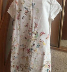 Летнее платье для девочки 11-12 лет