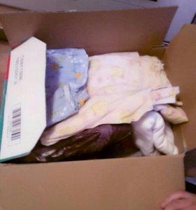 Пеленки и детское постельное белье
