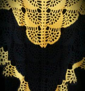 👑🐩🔥Шаль,шарф,платок шерсть