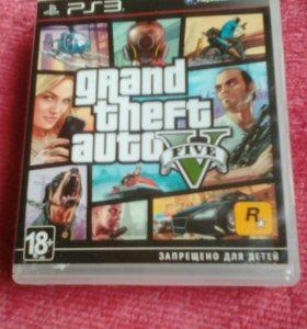 Диск GTA 5 для PS 3