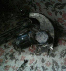Мотор стеклоочистителя в сборе на ваз классику