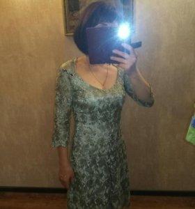 Гипюр платье