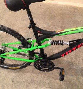 Велосипед двухподвес Тотем