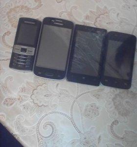 продаются телефоны на запчасти, недорого