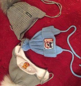 Зимние и демисезонные шапочки
