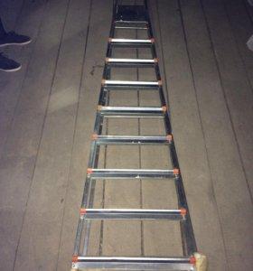 Стремянка лестница 9 ступенек профессиональная